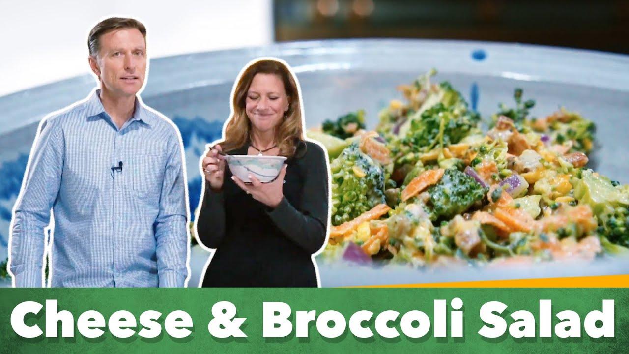 Keto Cheese And Broccoli Salad Recipe Eric And Karen Berg Viva Recipes