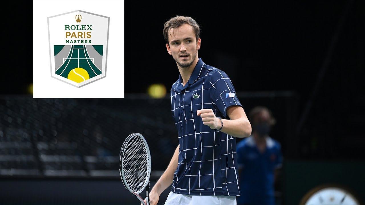 Interview of the winner : Daniil Medvedev   Rolex Paris Masters 2020