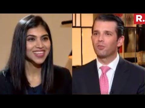 Donald Trump Jr. Speaks To Republic TV   Exclusive Interview