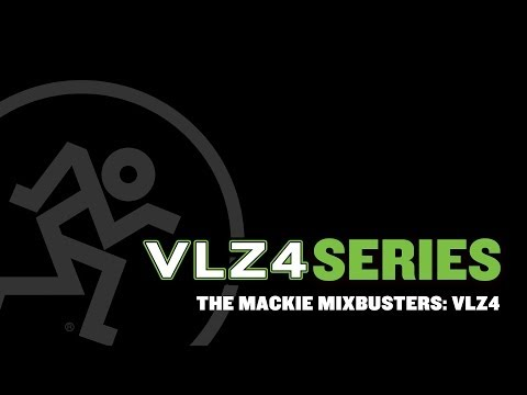 The Mackie MixBusters - VLZ4 Series Compact Mixers