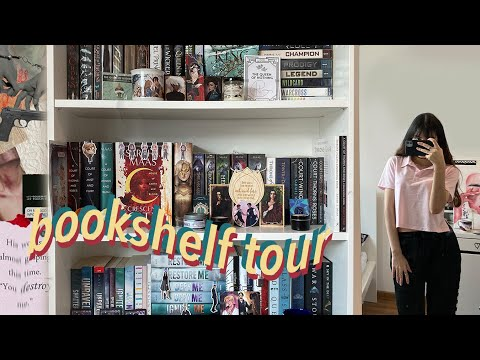 my bookshelf tour!