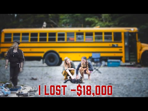 I Got Robbed During A Tiny House Tour (School Bus Conversion)