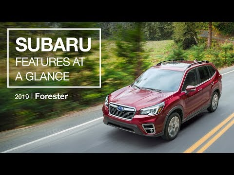 2019 Subaru Forester 13% ultra-high-strength steel, has lots of