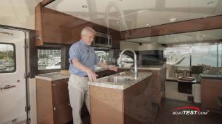 Hatteras 60 Motor Yacht Features 2016- By BoatTest.com