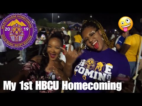 My First Hbcu Homecoming Miles College The Lifestyle Of Roseebby Youtube