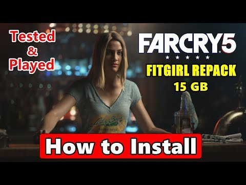 How to Install FAR CRY 5 Fitgirl Repack| Save Game Fixed 100%
