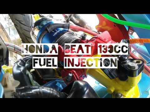 Modifikasi Honda Beat 130cc Fuel Injection
