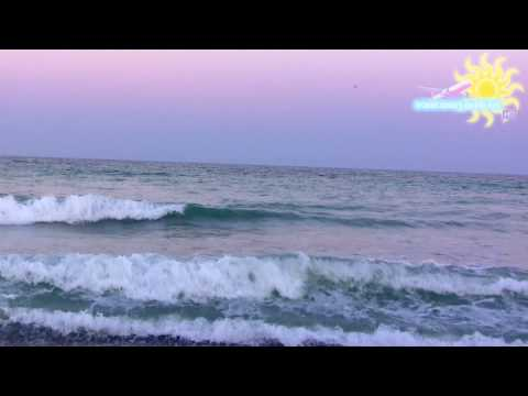 [Smart Travel Guide] Relaxing sea sounds at sunset HD