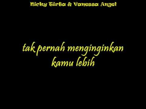 Vanessa Angel feat. Nicky Tirta ~ Indah Cintaku [Lyric]