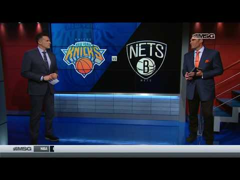 Wally Wall: Kevin Knox and Enes Kanter Take Command on Offense | New York Knicks | MSG Networks
