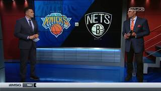 Wally Wall: Kevin Knox and Enes Kanter Take Command on Offense   New York Knicks   MSG Networks