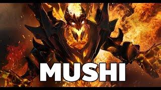 [Dota2] Mushi Pro Plays Hero Shadow Fiend Mid Ranked MMR Guide [ Mushi Gameplay ]