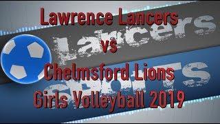 LHS Girls Volleyball vs Chelmsford