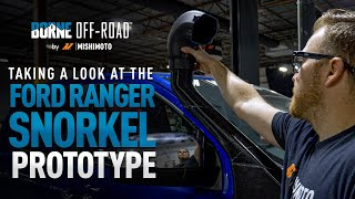homepage tile video photo for 2019+ Ford Ranger Snorkel Prototype Design and Fitment