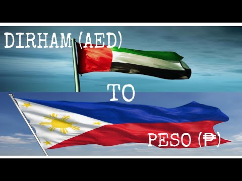 DUBAI UAE MONEY TO PESO | CONVERSION | OFW | DIRHAM |