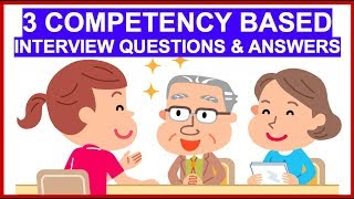 Download lagu 3 COMPETENCY-BASED Interview Questions And Answers! How To ANSWER Interview Competencies!