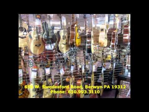 Georges Music Berwyn PA Store Tour