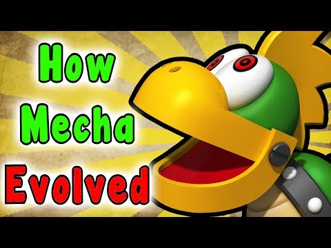 Super Mario - Evolution Of The MECHAKOOPA (1990 - 2017)