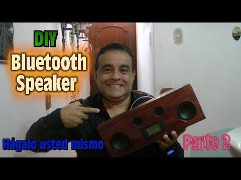 DIY Bluetooth Speaker 25 + 25 Watts con Cargador de Celulares - Hagalo usted mismo Parte2