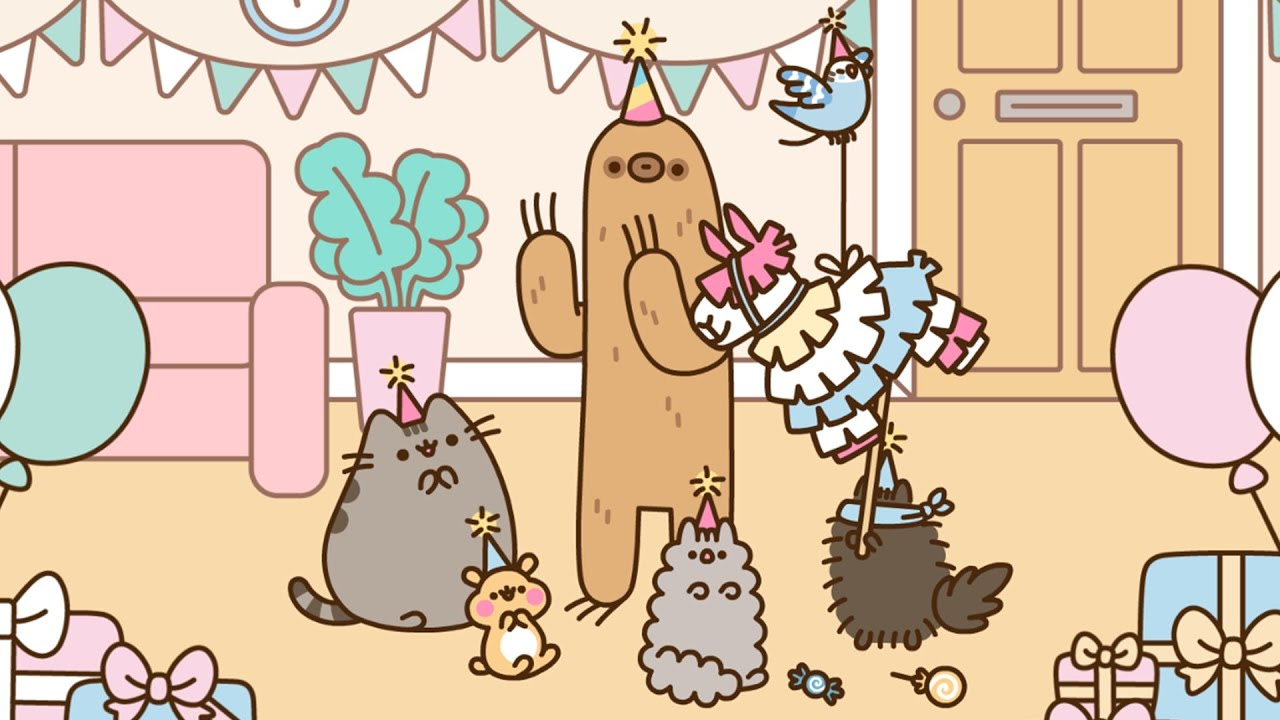 Pusheen: How to Throw Sloth a Birthday Party