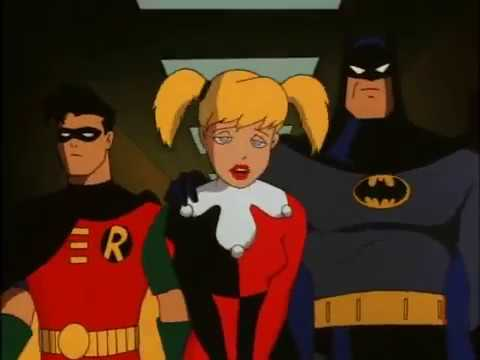 Harley Quinn Robin Cartoon