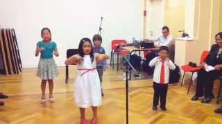 Kids Presentation - With Christ in my vessel, I can smile at the storm