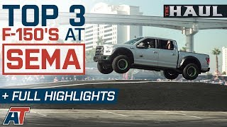 Top 3 2018 Ford F150's Of SEMA 2017 & Full Event Truck Coverage – The Haul