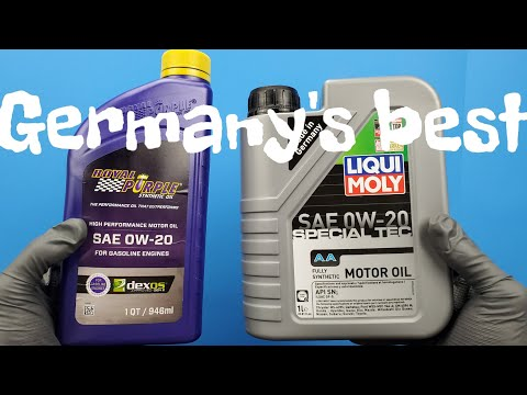 Best Engine Oil MADE IN GERMANY!!! Crushing America's Best .