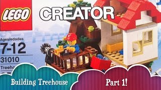 Lego Treehouse Creator Build 3 Different Houses From 1 Lego Set Treehouse Building Part 1