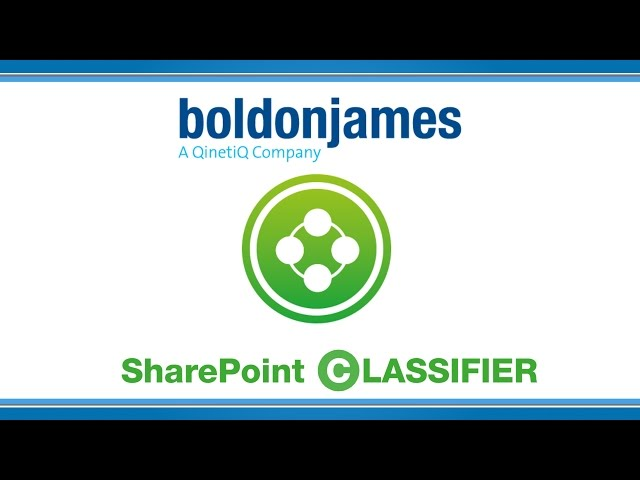 Boldon James | SharePoint Classifier