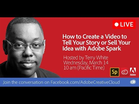 How to Create a Video to Tell Your Story  using Adobe Spark Video For Free