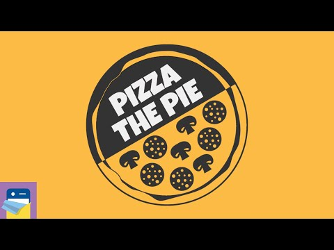 Pizza The Pie - Puzzle Game: iOS / Android Gameplay Walkthrough Part 1 (by Karaverse)