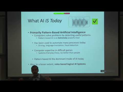 Artificial Intelligence and Law – An Overview and History | Guest Speaker: Harry Surden