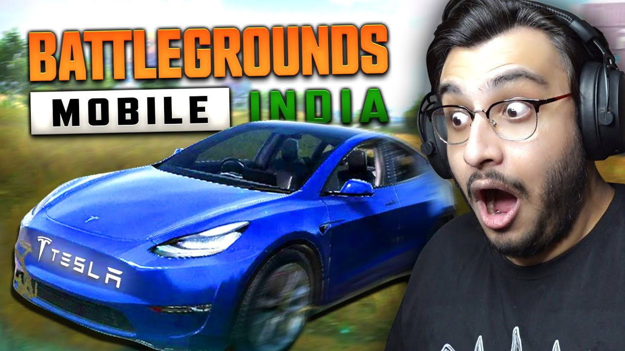 I STOLE A TESLA IN BGMI MISSION IGNITION | RAWKNEE