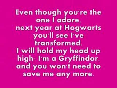Ode To Harry Potter- Switchblade Kittens (with lyrics)