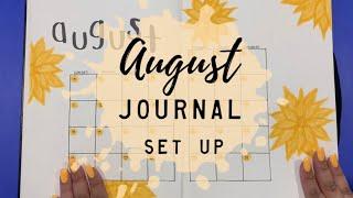 AUGUST 2019 Journal Setup | BudgetWithBri