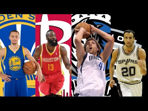 NBA Best Shooter Ever By Team