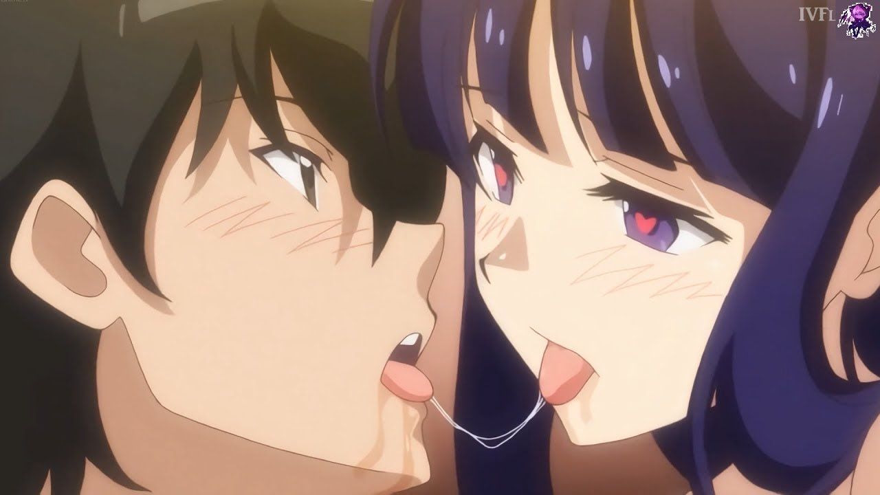 Download When the girls are trying to take his first kiss (H) Anime Harem Moments