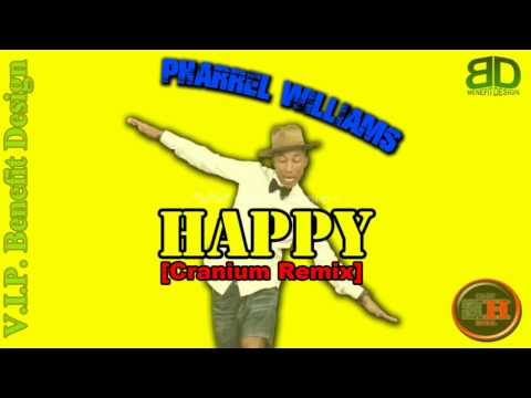Pharrel Williams - HAPPY [Carnium Remix] (Official HQ/HD)