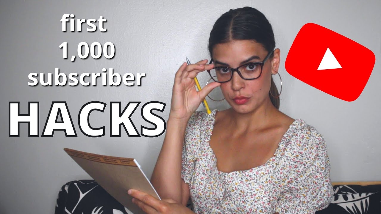 HACKS for getting 1,000 subs FAST! // 3 hacks for small & new youtubers