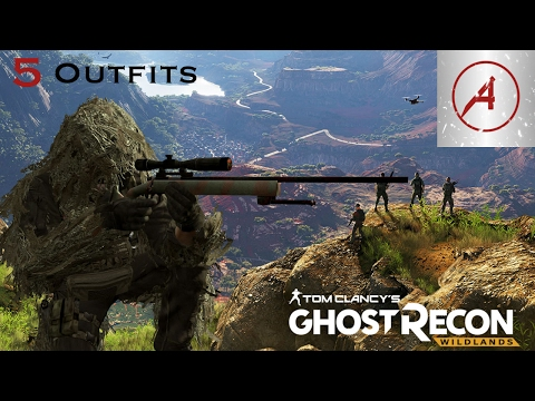 Ghost Recon Wildlands | 5 Awesome Outfits