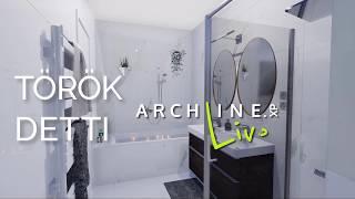Bathroom visuals by Bernadett Torok - ARCHLineXP Live 2019
