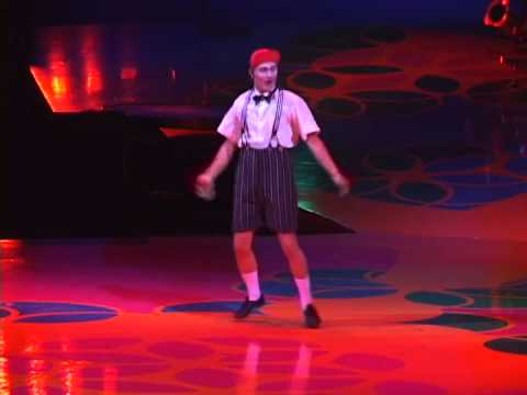 Jesko, Cirque du Soleil, Saltimbanco, Clown ACT 1