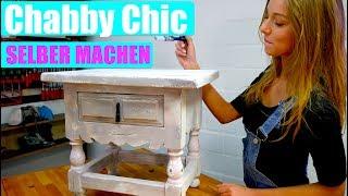 Chabby Chic Möbel selber machen - Ganz einfach - mit PIA !