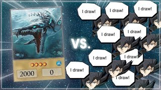 Megalosmasher X + This guy drew 14 TIMES in 1 DRAW PHASE... [Yu-Gi-Oh! Duel Links]