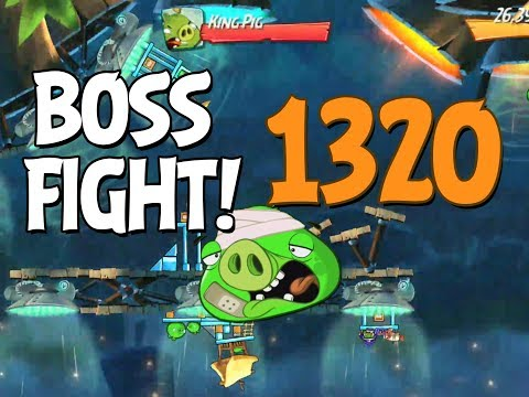 Angry Birds 2 Boss Fight 189! King Pig Level 1320 Walkthrough - iOS, Android