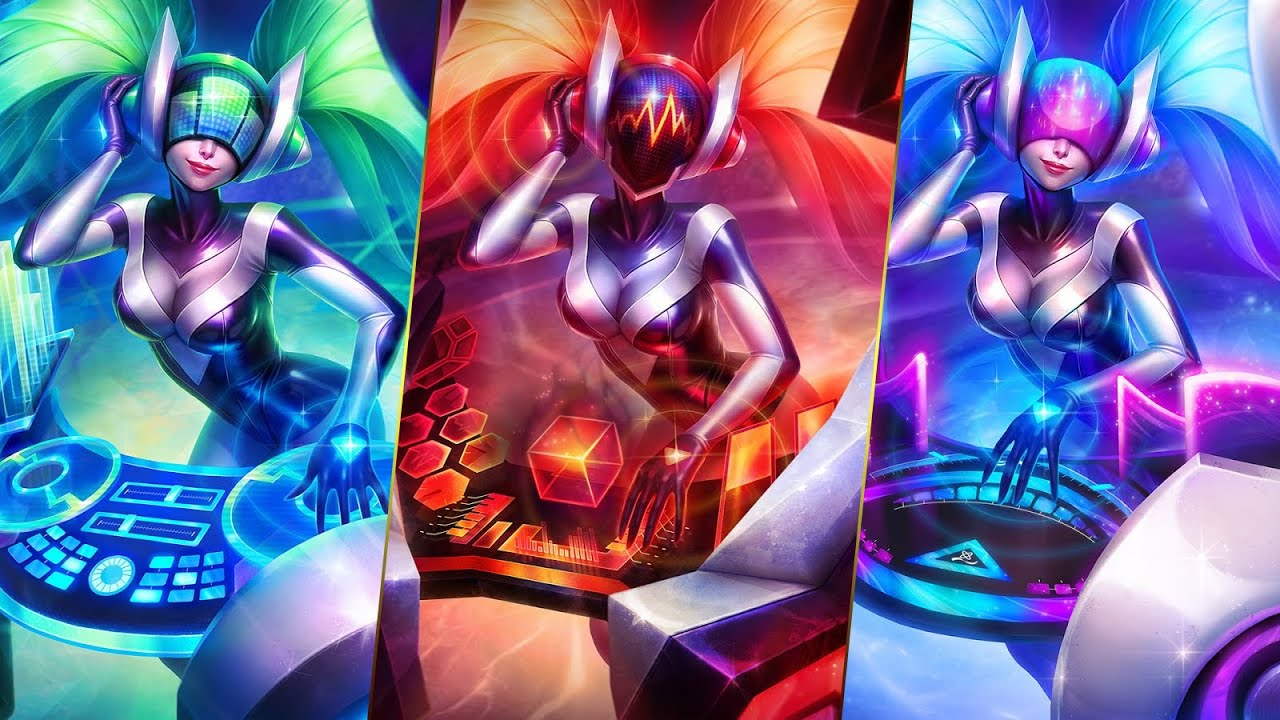 Cute Wallpapers For Girls Mobile League Of Legends Dj Sona Login Theme Youtube