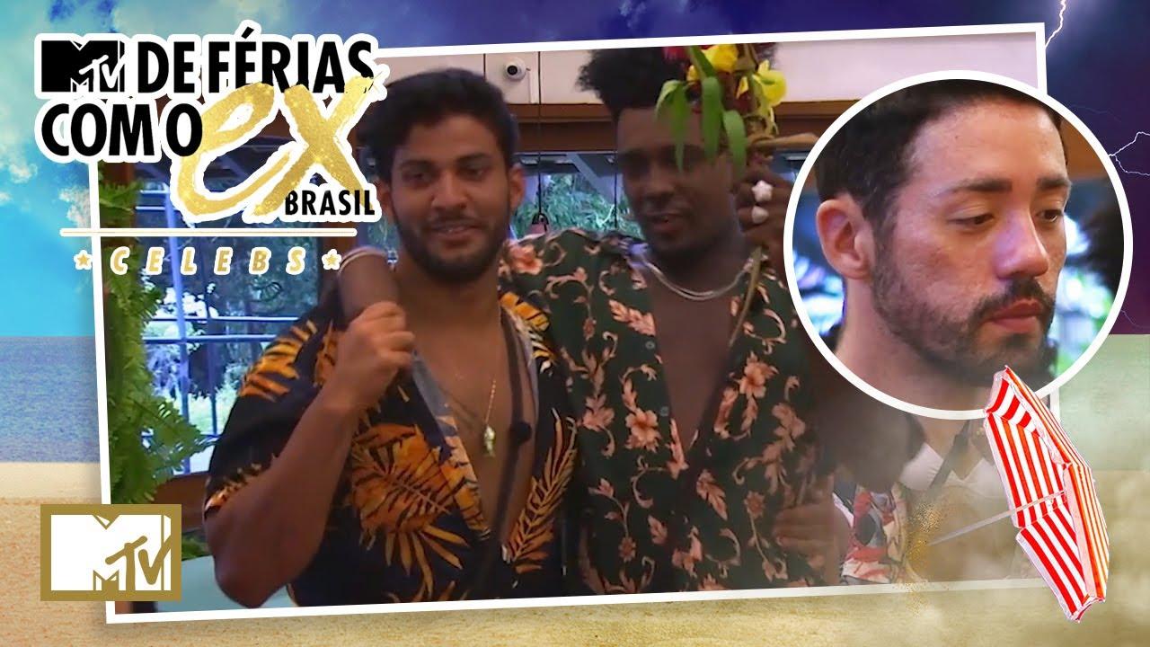 Matheus e Luís conseguem deixar Rico MUITO P*TO | MTV De Férias Com o Ex Brasil Celebs T7