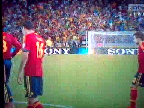 Spain VS Italy 7-6(Penalty)