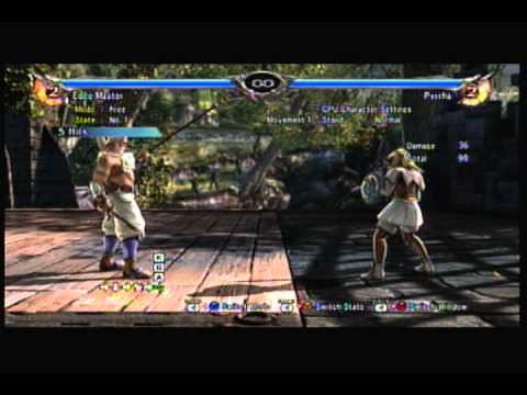 Soul Calibur 5 All Hidden Characters Critical Edge